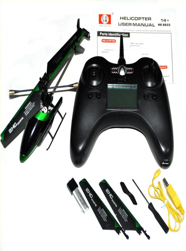 RC Helicopters & RC Parts