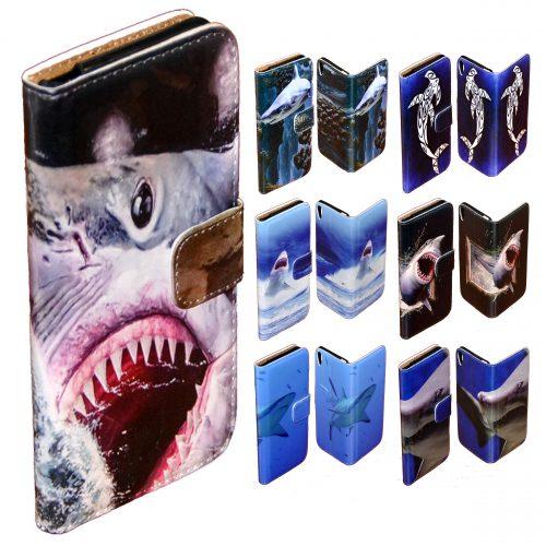 Shark Print Phone Cover