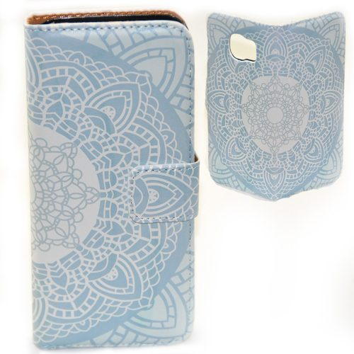 Mandala Print Flip Case Phone Cover
