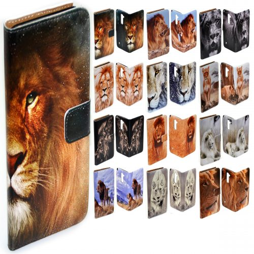 Lion Print Phone Cover