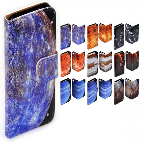 Planet Galaxy Print Phone Cover