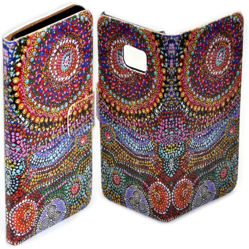 Aboriginal Art Print Mobile Phone Cover