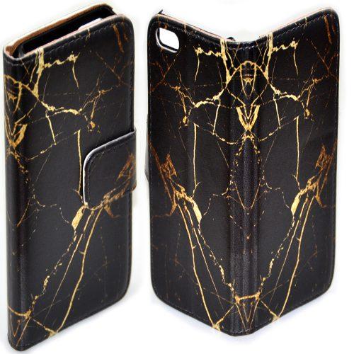 Marble Print Texture Flip Case Wallet Mobile Phone Cover