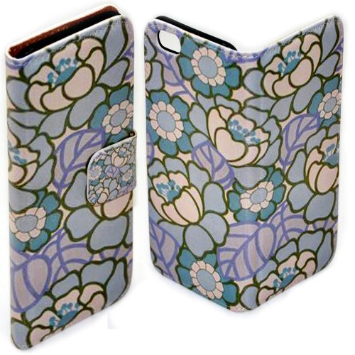 Floral Pattern Theme Print Mobile Phone Cover