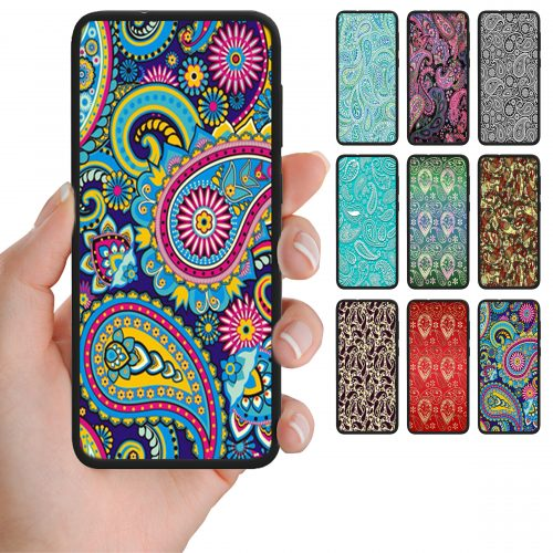 Paisley Print Pattern Back Case Phone Cover
