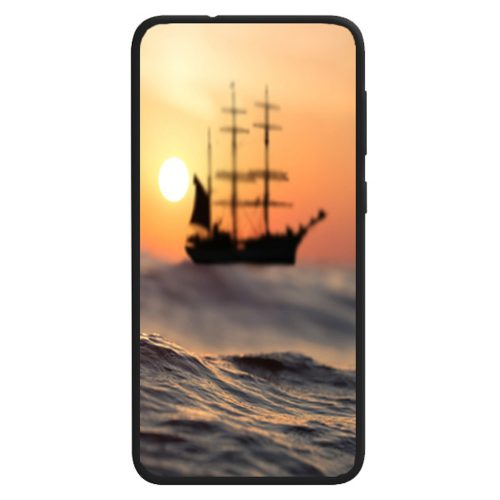 Seascape Theme Print Back Case Phone Cover