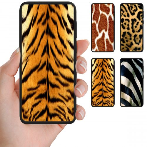 Animal Fur Theme Print Mobile Phone Back Case Cover