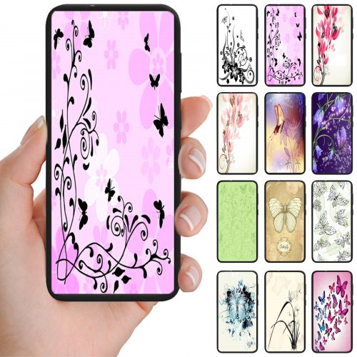 Butterfly Butterflies Theme Print Mobile Phone Cover Back Case
