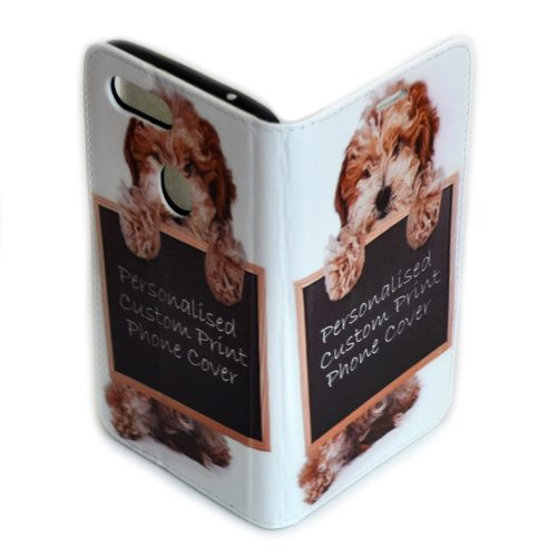 Personalised Custom Print Mobile Phone Cover Flip Wallet Case