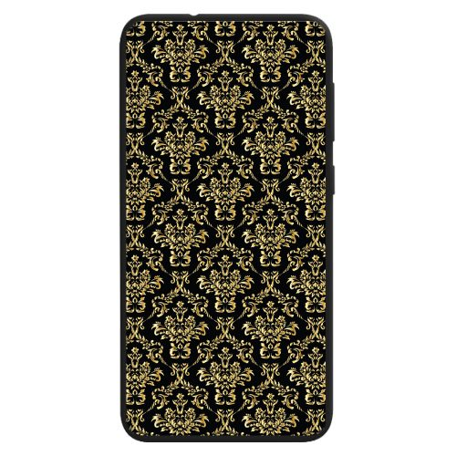 Gold Damask Print Pattern Back Case Phone Cover