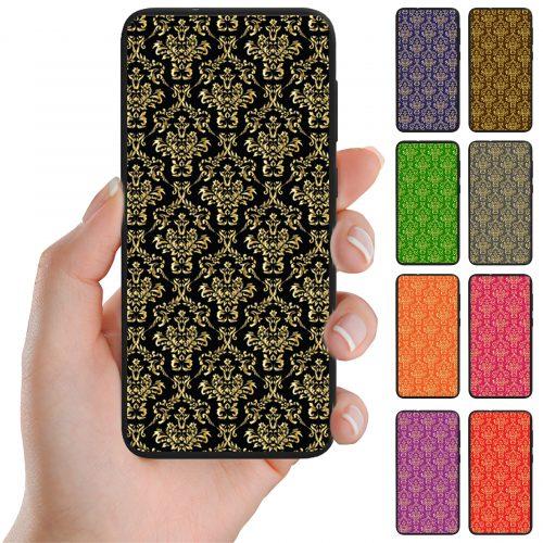 Gold Damask Print Pattern Back Case Phone Cover
