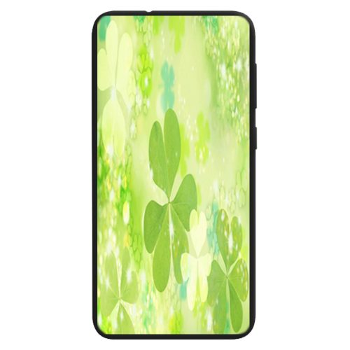 Shamrock Clover Theme Print Phone Case Back Cover