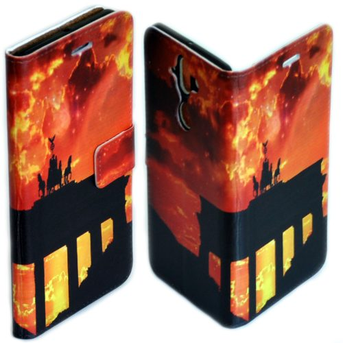 Capital City Landmark Print Theme Flip Case Mobile Phone Cover