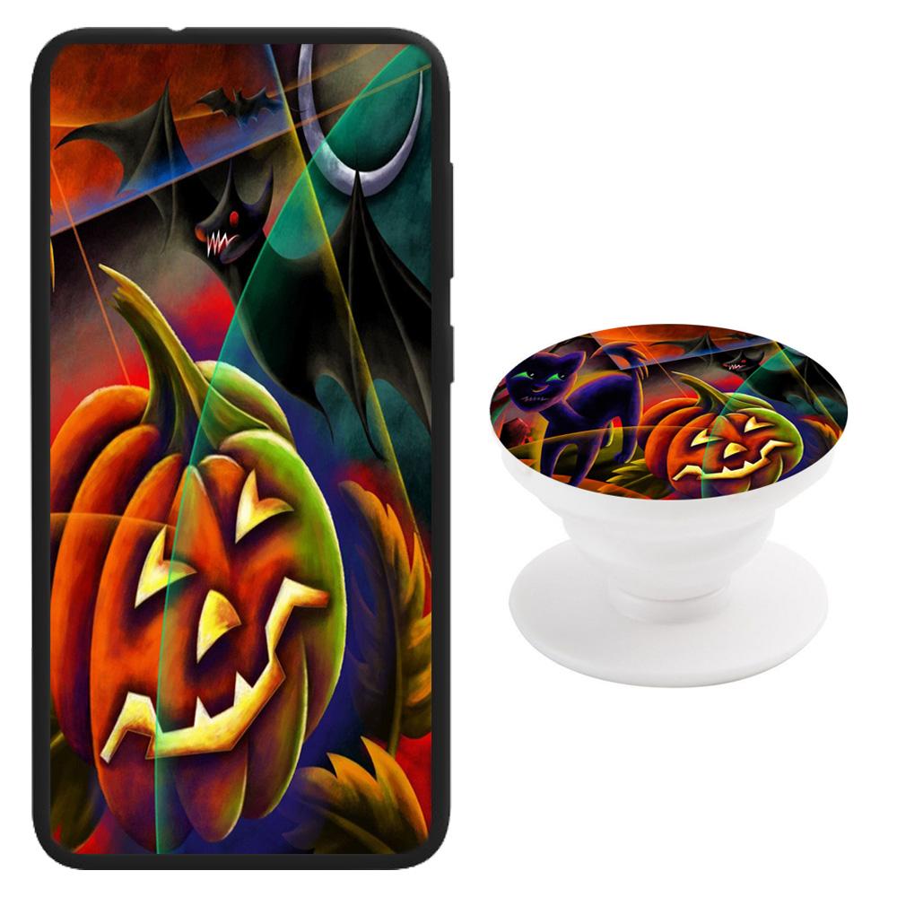 Halloween Print Theme Samsung Galaxy Series Phone Case + Pop Holder