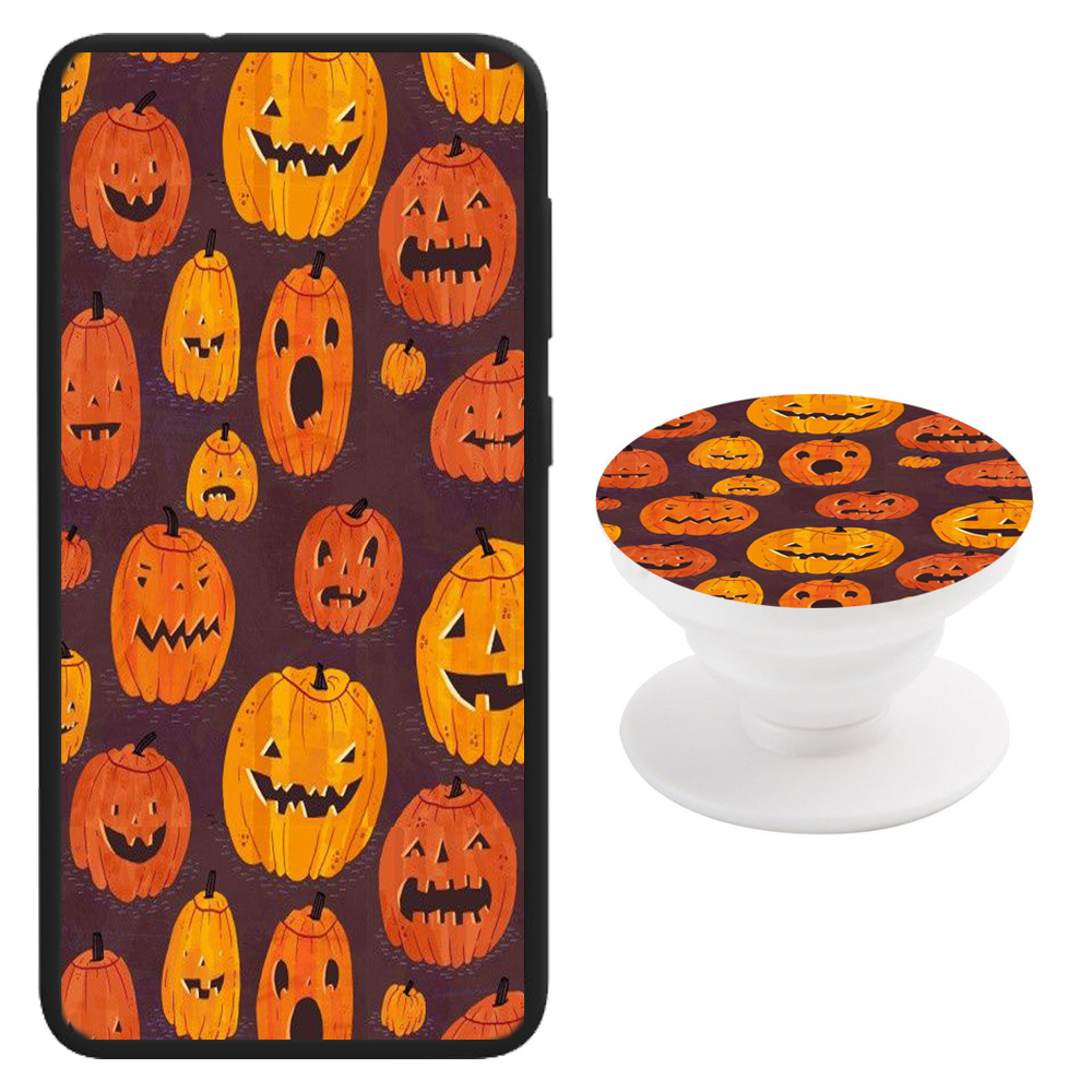 Halloween Print Theme Samsung Galaxy Series Phone Case + Pop Holder