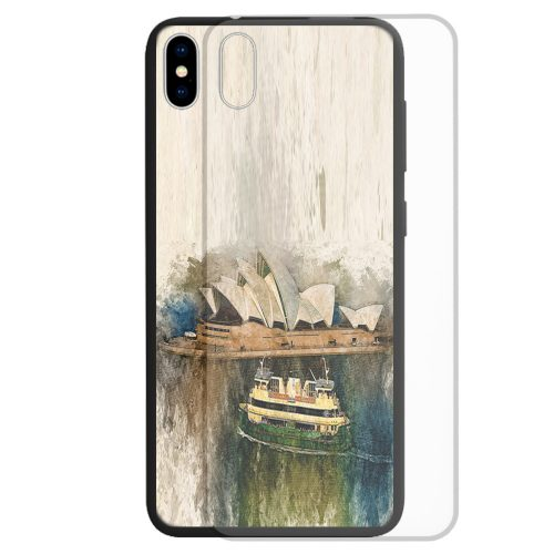 Sydney Opera House Print Theme Back Case Mobile Phone Cover