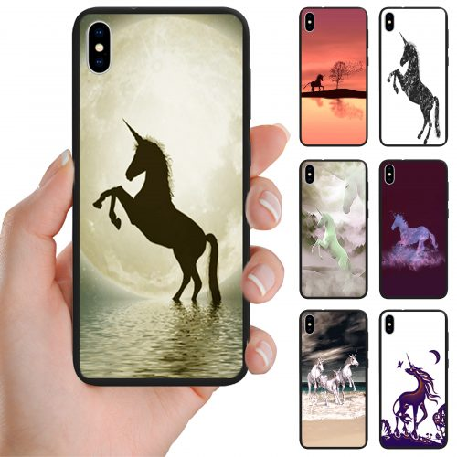 Unicorn Fairy Tale Theme Print Back Case Mobile Phone Cover
