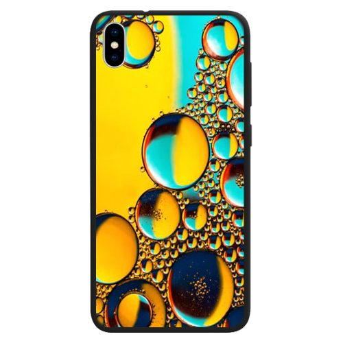 Water Bubble Print Pattern Back Case Mobile Phone Cover