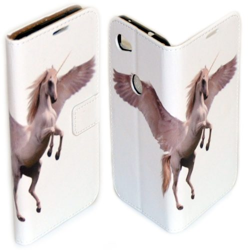 Flip Case Mobile Phone Cover featuring Unicorn Fairy Tale Print Theme