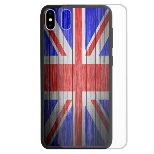 United Kingdom National Flag Print Theme Tempered Glass Phone Cover for iPhone, Samsung, OPPO, Huawei