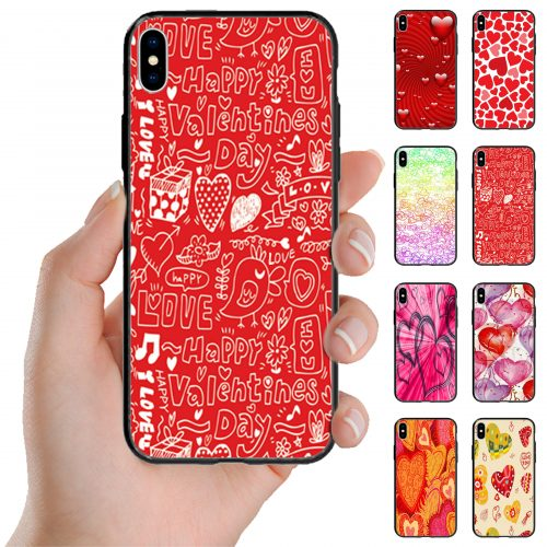 Valentine's Day Love Theme Print Back Case Mobile Phone Cover