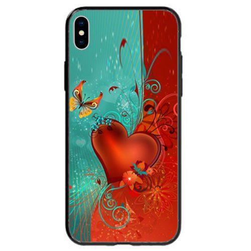 Valentine's Day Love Theme Print Back Case Mobile Phone Cover
