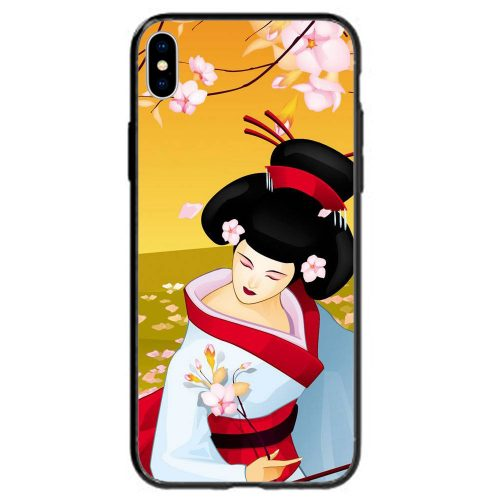 Japan Theme Printed Back Case Mobile Phone Cover