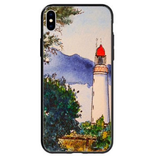 Lighthouse Tower Theme Print Back Case Mobile Phone Cover