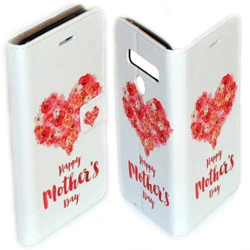 Mother's Day Theme Printed Flip Wallet Mobile Phone Cover