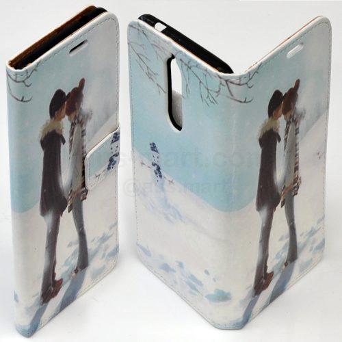 Anime Manga Japanese Cartoon Theme Print Flip Case Mobile Phone Cover