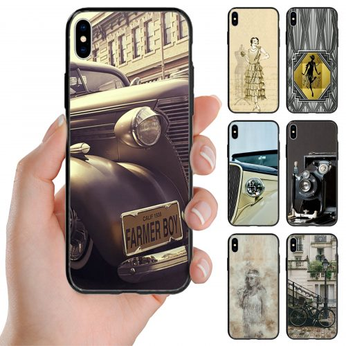 1930s Vintage Lifestyle Theme Print Back Case Mobile Phone Cover