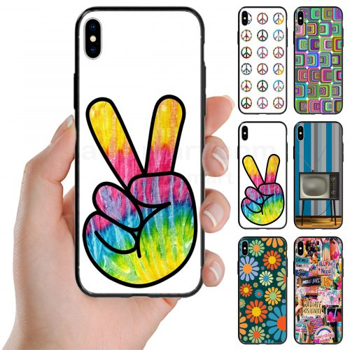 1970s Retro Vintage Theme Printed Back Case Mobile Phone Cover
